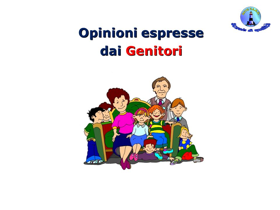 Opinioni espresse dai Genitori