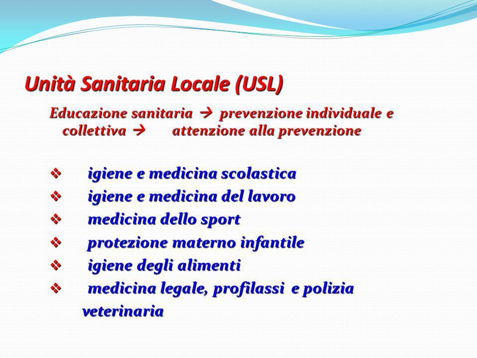 Unità Sanitaria Locale (USL)