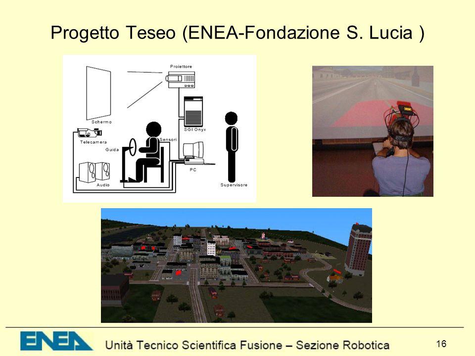 Progetto Teseo (ENEA-Fondazione S. Lucia )