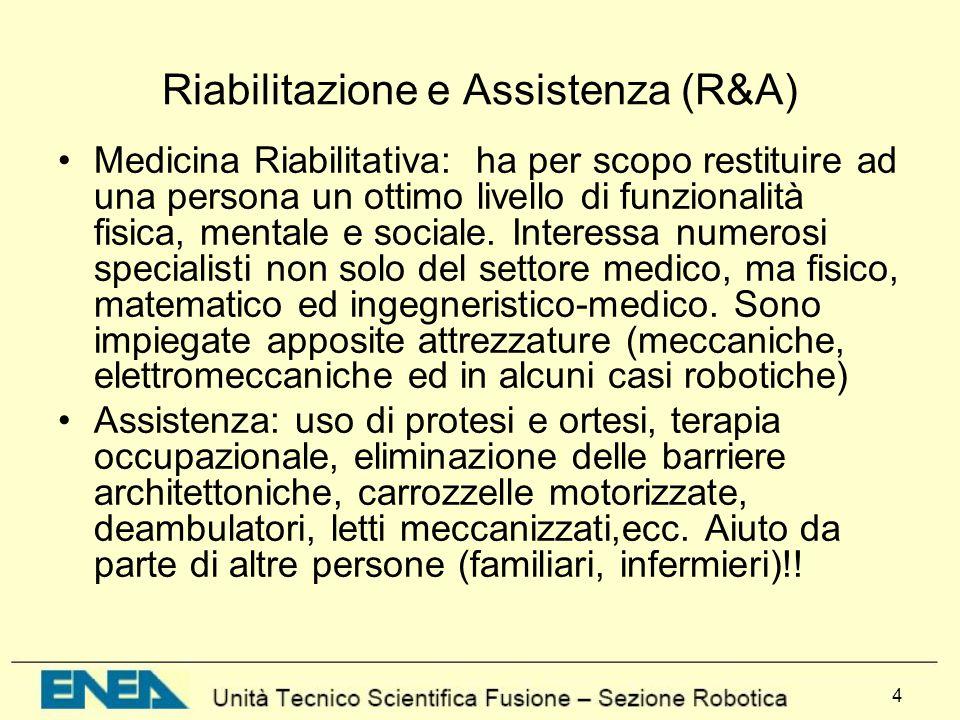 Riabilitazione e Assistenza (R&A)
