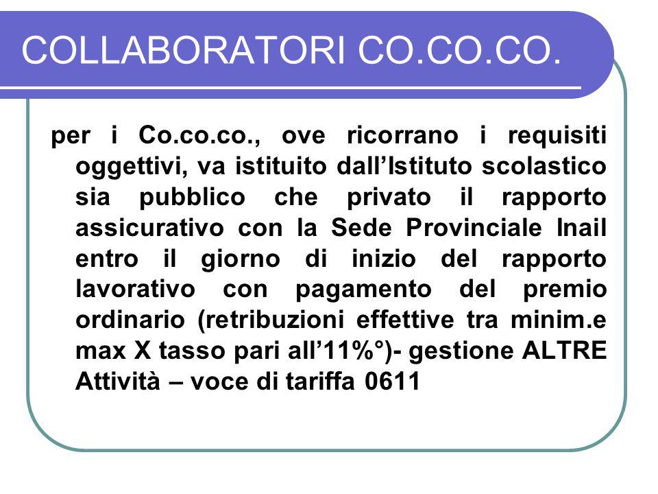 COLLABORATORI CO.CO.CO.