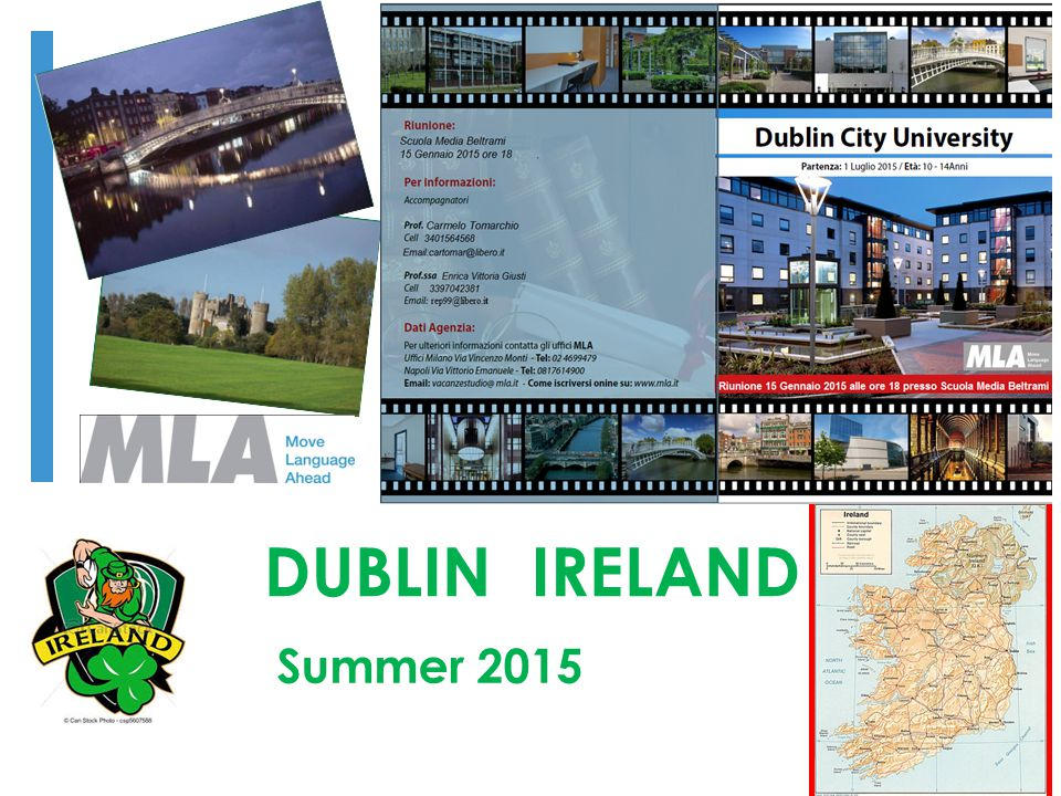 DUBLIN IRELAND Summer 2015