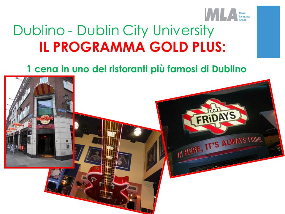 IL PROGRAMMA GOLD PLUS: