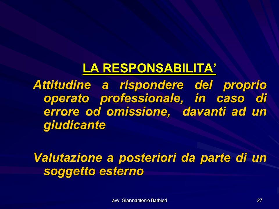avv. Giannantonio Barbieri