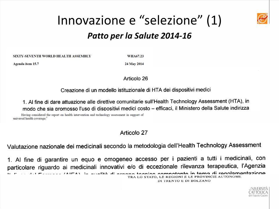 Innovazione e selezione (1)