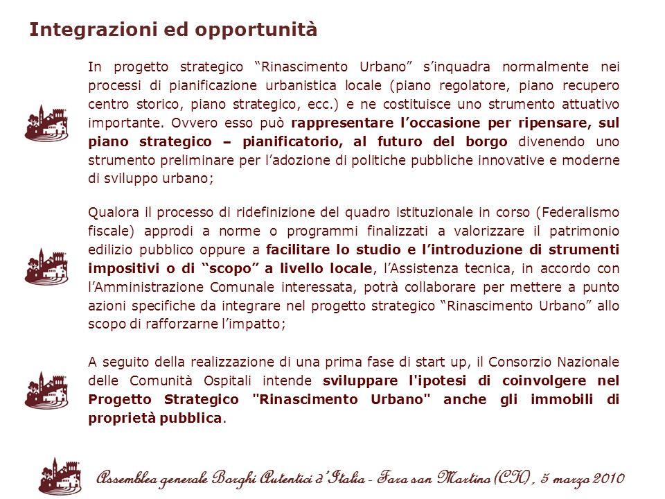 Integrazioni ed opportunità