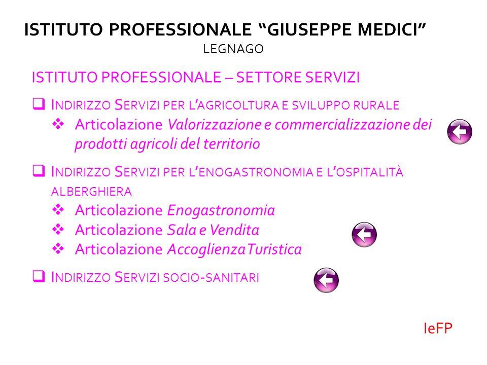 ISTITUTO PROFESSIONALE GIUSEPPE MEDICI