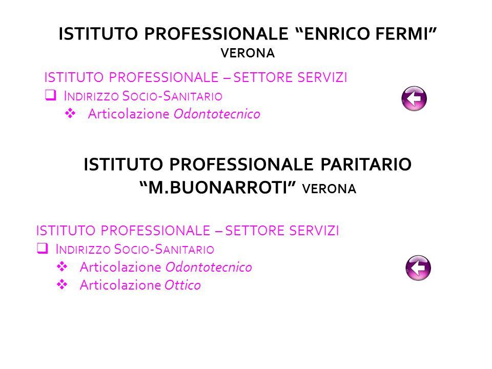 ISTITUTO PROFESSIONALE ENRICO FERMI VERONA