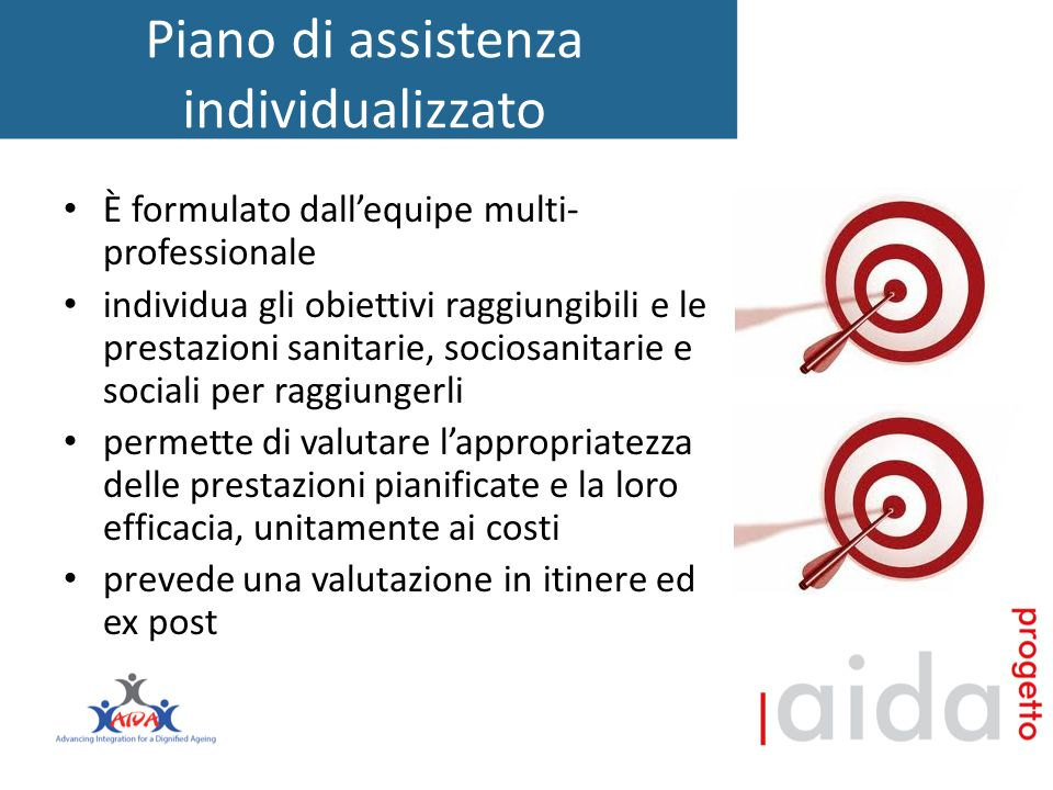 Piano di assistenza individualizzato