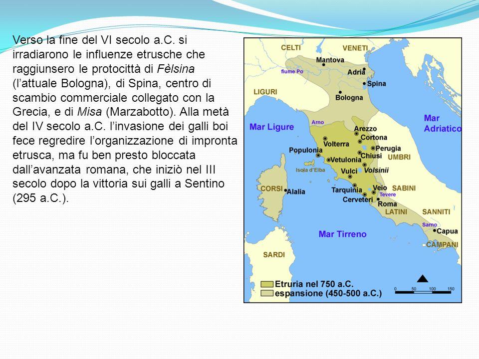 Verso la fine del VI secolo a. C