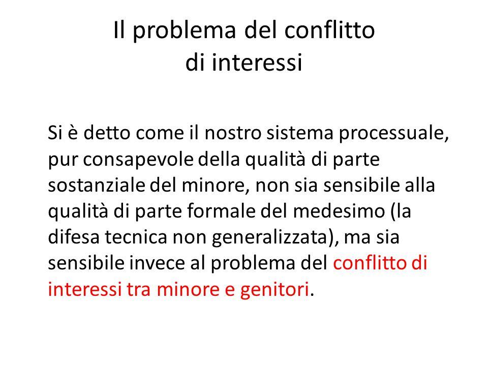 Il problema del conflitto di interessi