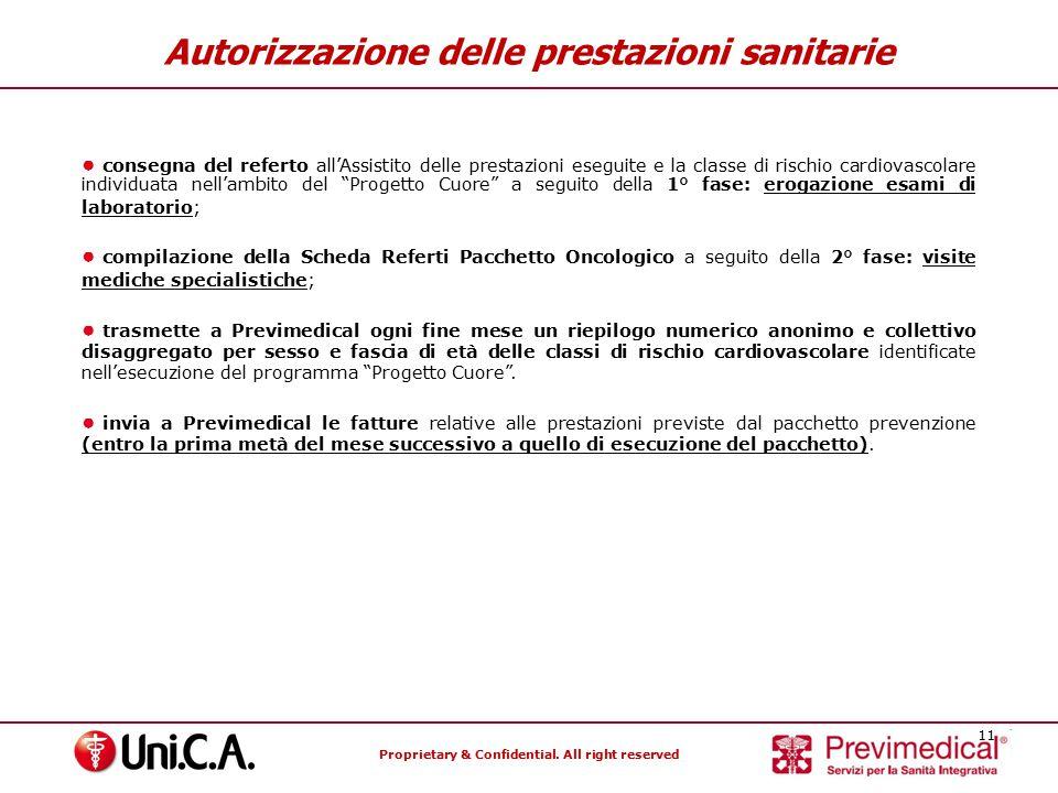Autorizzazione delle prestazioni sanitarie