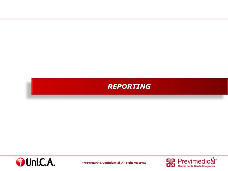 REPORTING Specialisti nella gestione dei Fondi Sanitari