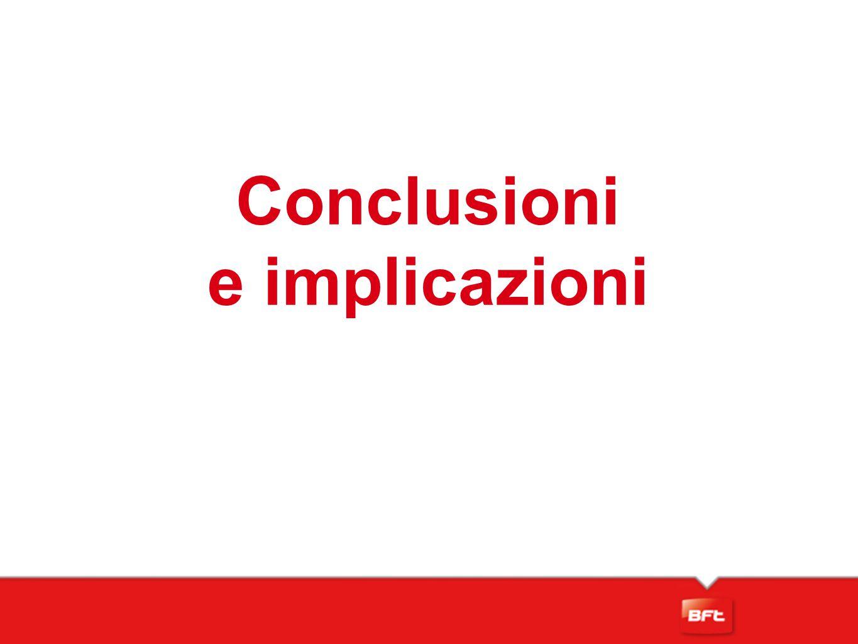 Conclusioni e implicazioni