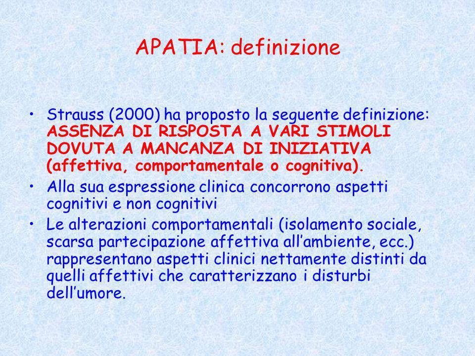 APATIA: definizione