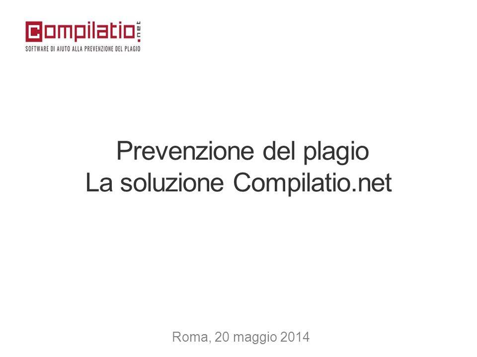 Prevenzione del plagio La soluzione Compilatio.net