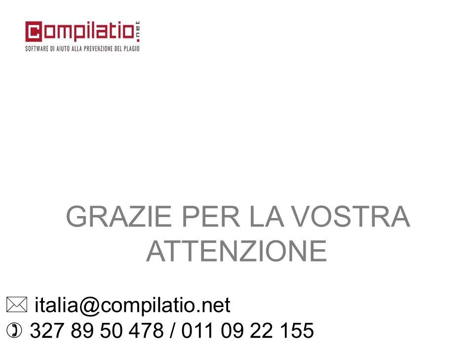  italia@compilatio.net  327 89 50 478 / 011 09 22 155