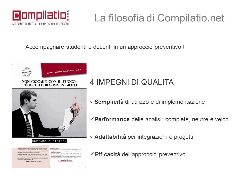 La filosofia di Compilatio.net