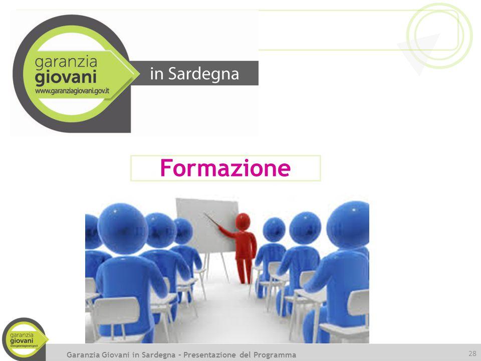 Formazione Garanzia Giovani in Sardegna – Presentazione del Programma