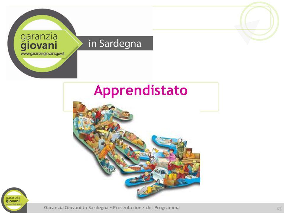 Apprendistato Garanzia Giovani in Sardegna – Presentazione del Programma