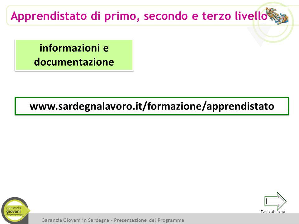 informazioni e documentazione