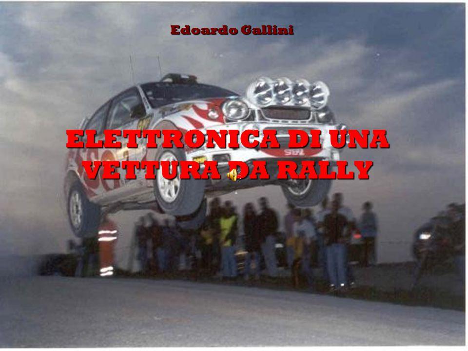 ELETTRONICA DI UNA VETTURA DA RALLY