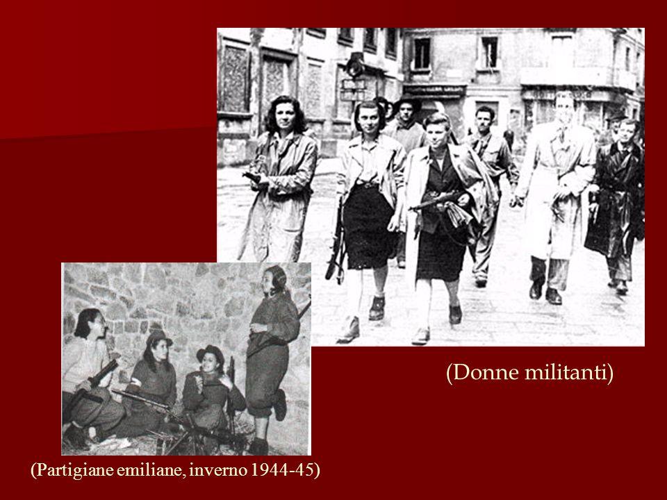 (Donne militanti) (Partigiane emiliane, inverno 1944-45)