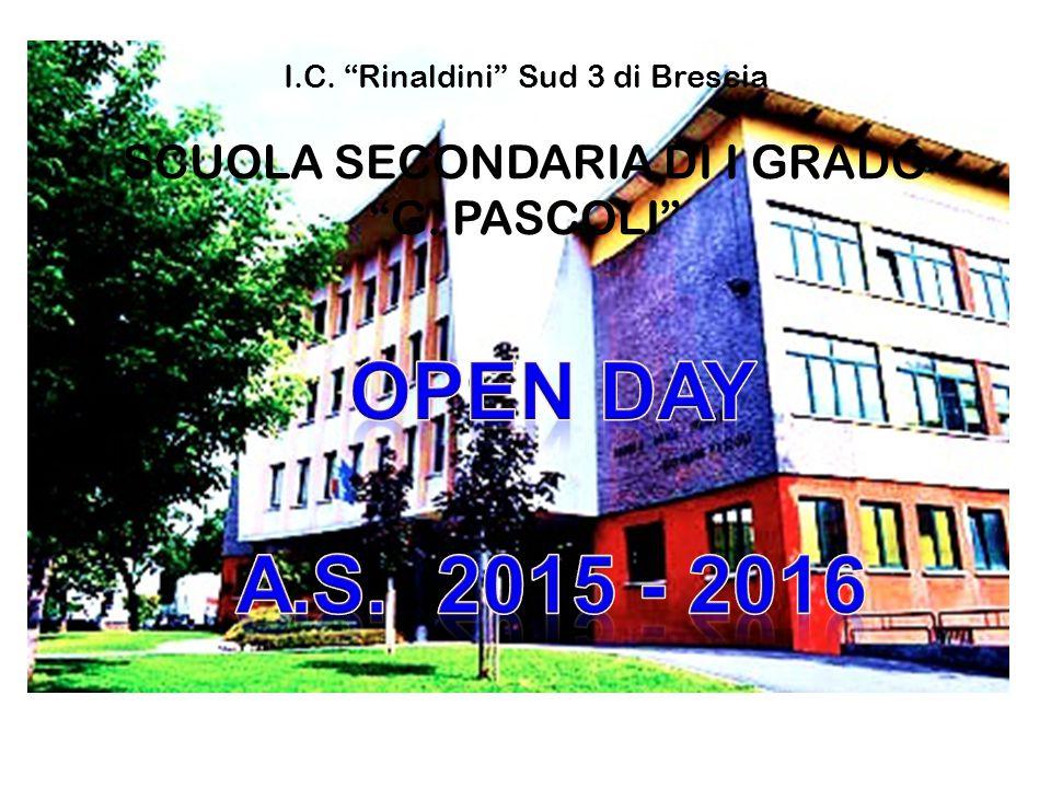 I. C. Rinaldini Sud 3 di Brescia SCUOLA SECONDARIA DI I GRADO G