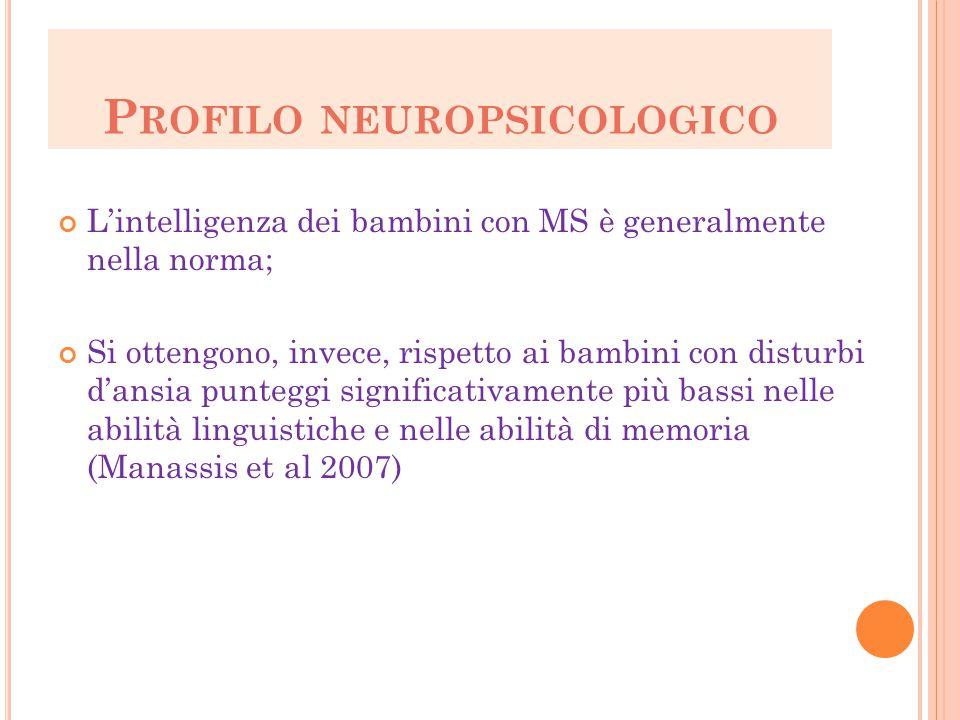 Profilo neuropsicologico