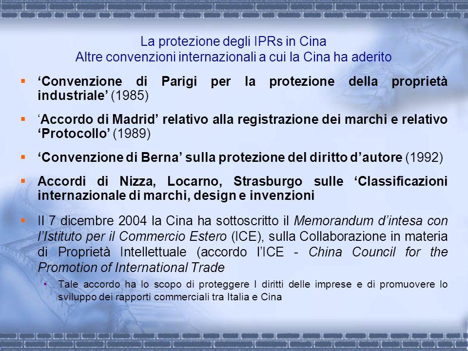 'Convenzione di Berna' sulla protezione del diritto d'autore (1992)