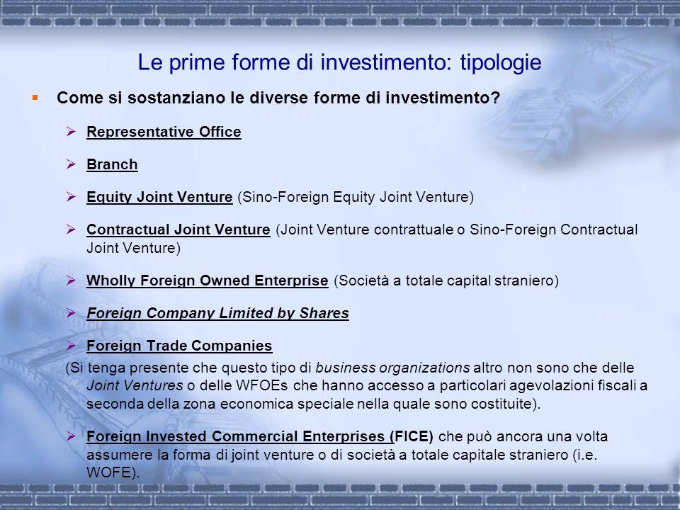 Le prime forme di investimento: tipologie