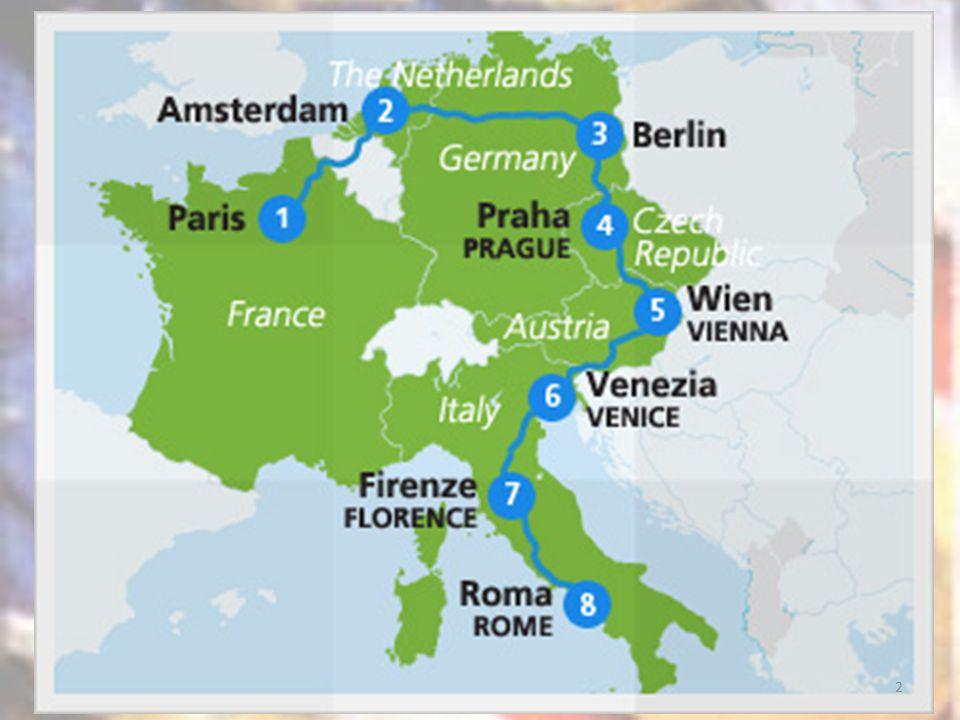 È più a est Vienna o Praga