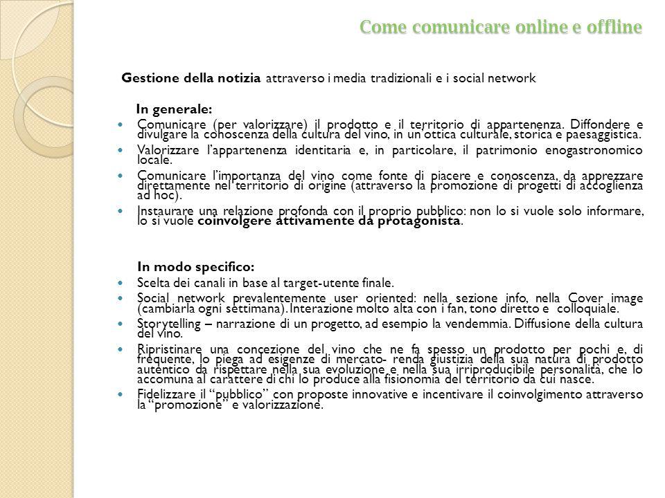 Come comunicare online e offline
