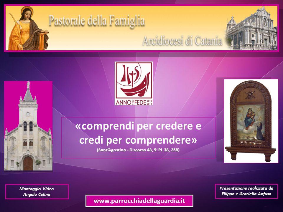 Presentazione realizzata da Filippo e Graziella Anfuso