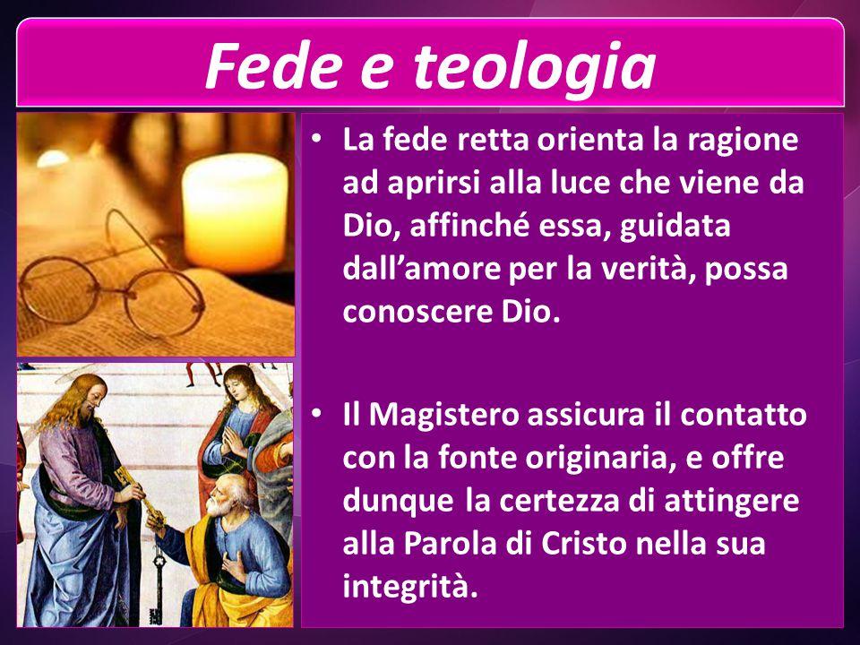 Fede e teologia