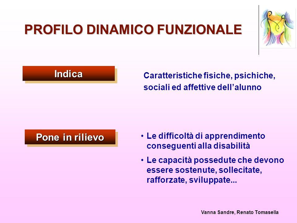 PROFILO DINAMICO FUNZIONALE
