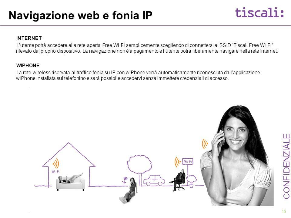 Navigazione web e fonia IP