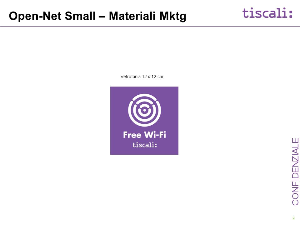 Open-Net Small – Materiali Mktg