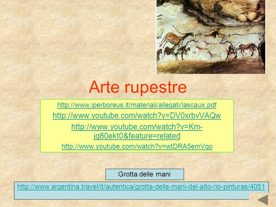 Arte rupestre http://www.youtube.com/watch v=DV0xrbvVAQw
