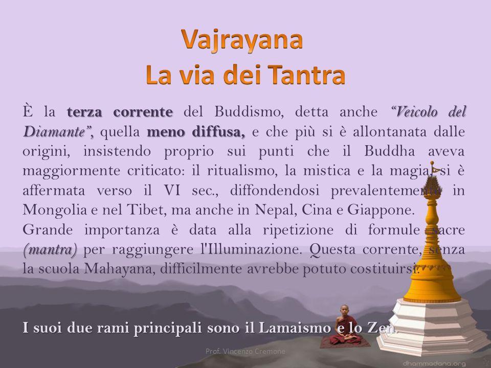 Vajrayana La via dei Tantra