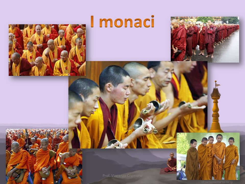 I monaci Prof. Vincenzo Cremone