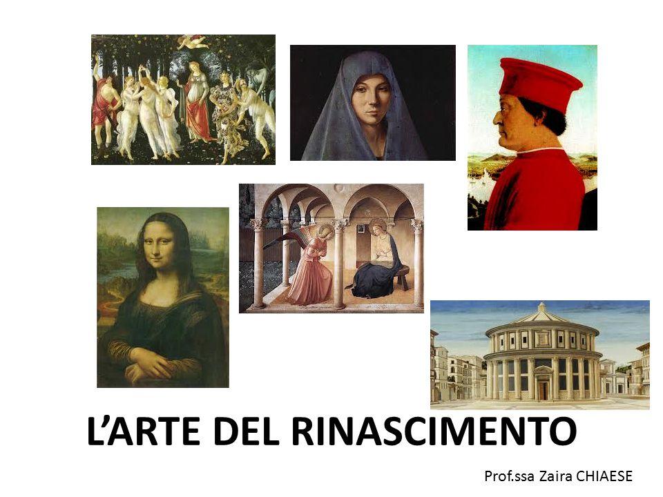L'ARTE DEL RINASCIMENTO