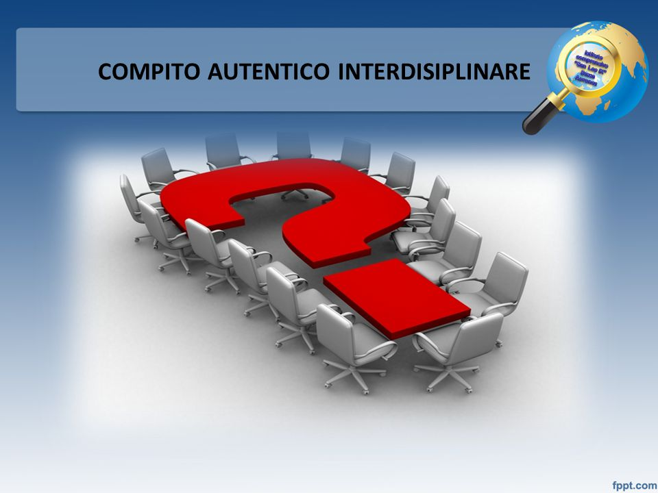 COMPITO AUTENTICO INTERDISIPLINARE