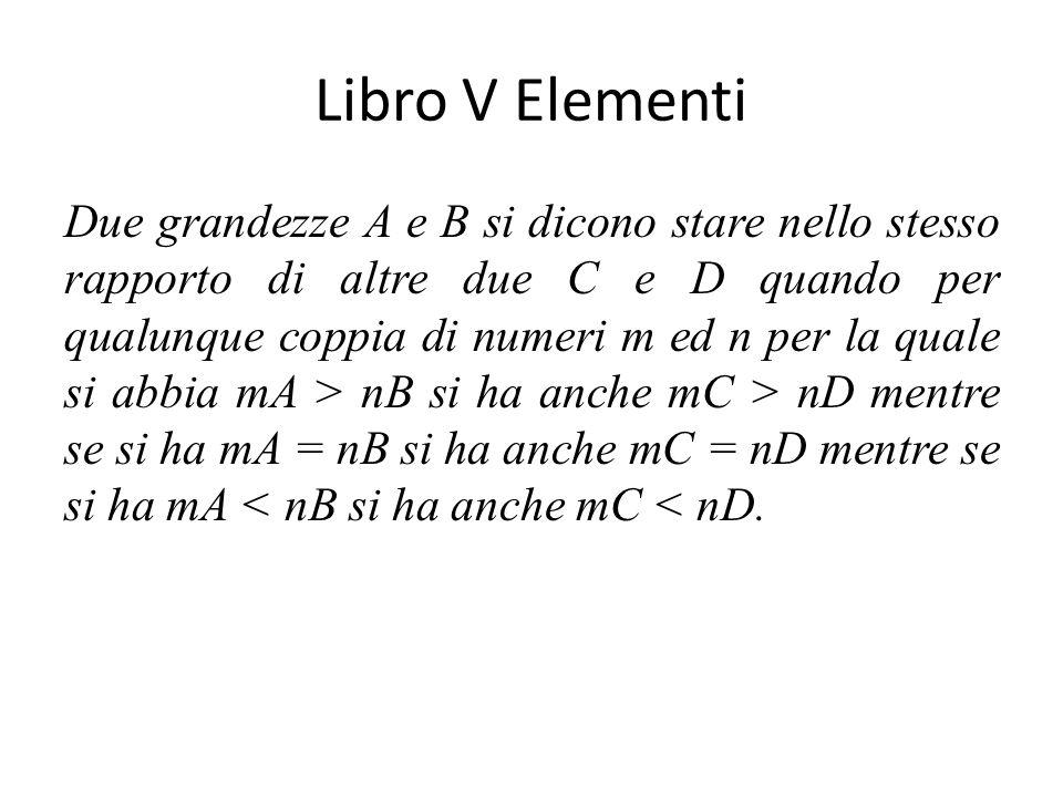 Libro V Elementi