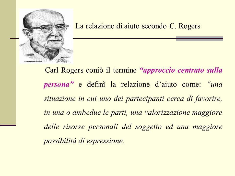 La relazione di aiuto secondo C. Rogers