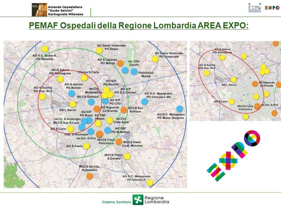 PEMAF Ospedali della Regione Lombardia AREA EXPO: