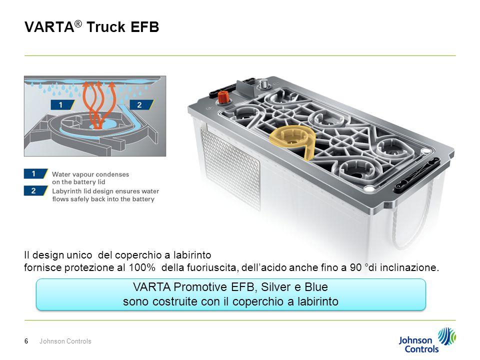 VARTA® Truck EFB VARTA Promotive EFB, Silver e Blue
