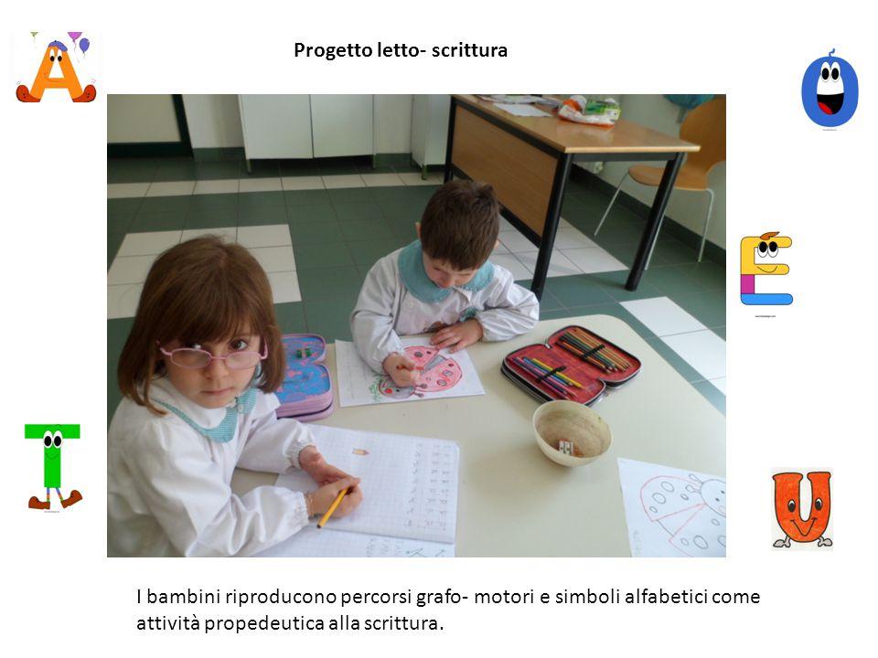Progetto letto- scrittura