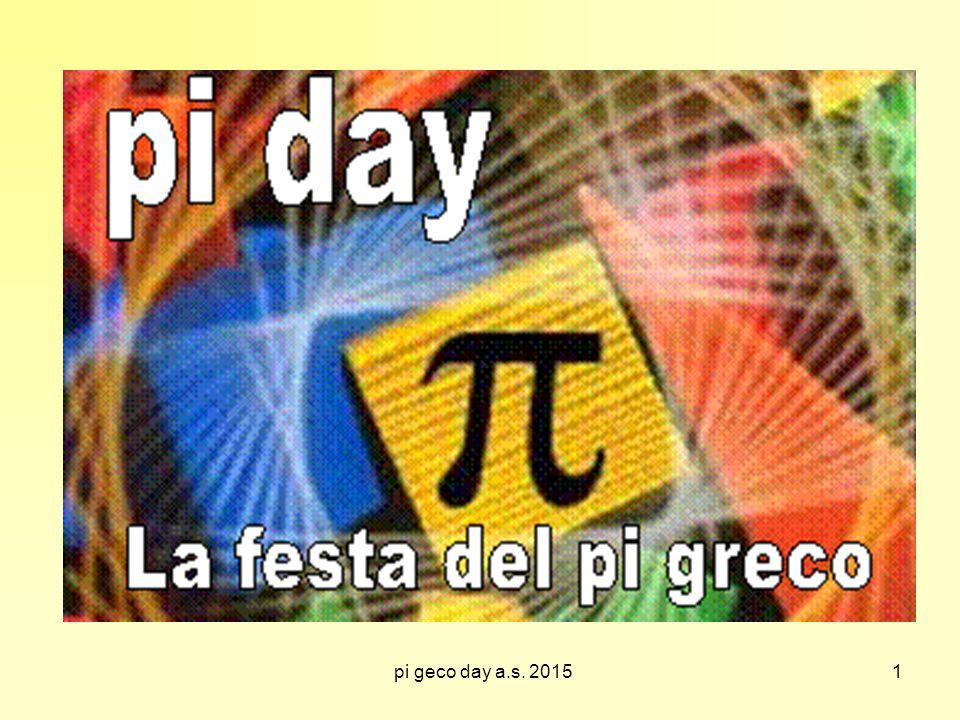 pi geco day a.s. 2015