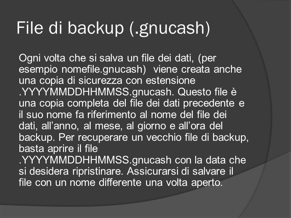 File di backup (.gnucash)